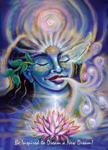Katherine Skaggs Dream a New Dream Altar Card