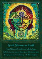 Katherine Skaggs Spirit Shaman on Earth Altar Card
