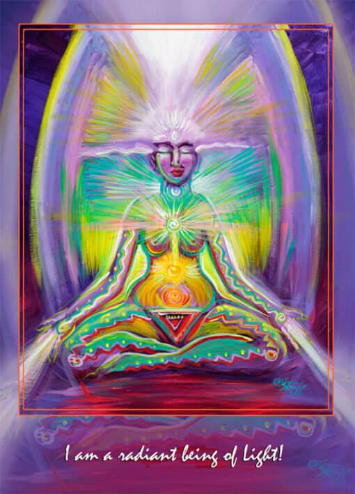 Katherine Skaggs Chakra Mama Altar Card