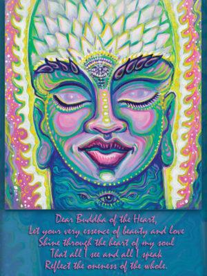 Buddha of the Heart Altar Card