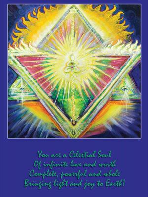 Heart Chakra Shaman Altar Card