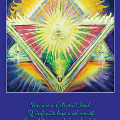 Katherine Skaggs Heart Chakra Shaman Altar Card