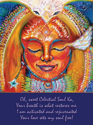 Celestial Soul Ka Altar Card