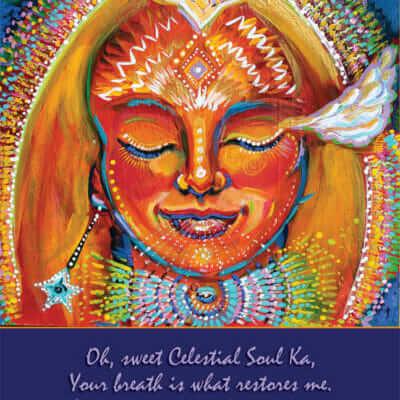 Katherine Skaggs Celestial Soul Ka Altar Card