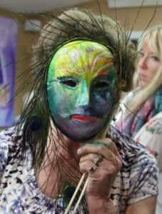 shaman mask katherine skaggs class